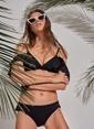 Morhipo Beach Fırfır Detaylı Bikini Siyah